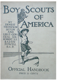 Boy Scouts of America, Official Handbook Copyright 1910
