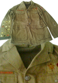 Boy Scouts 4 Pocket Open Collar Jacket