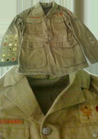 Boy Scouts 4 Pocket Open Collar Jacket
